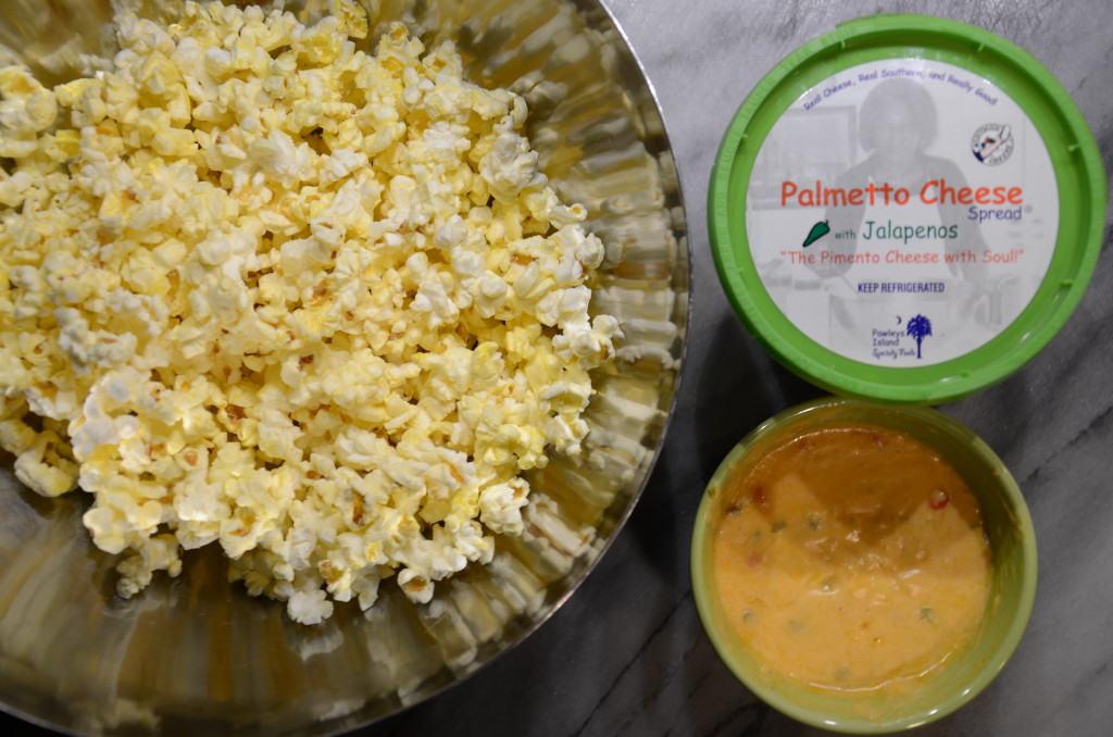 Palmetto Cheese Popcorn