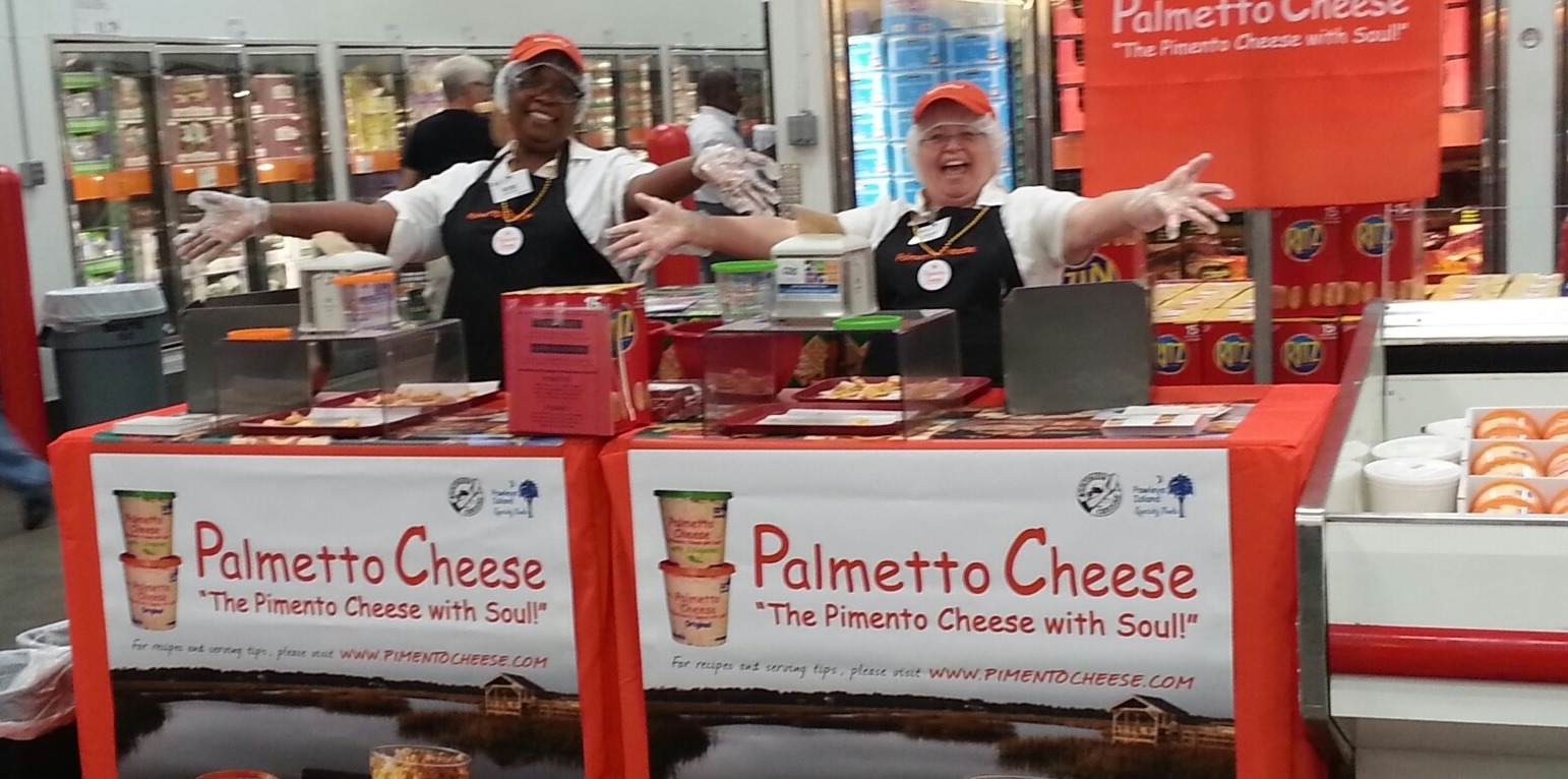palmetto cheese pimento cheese demo
