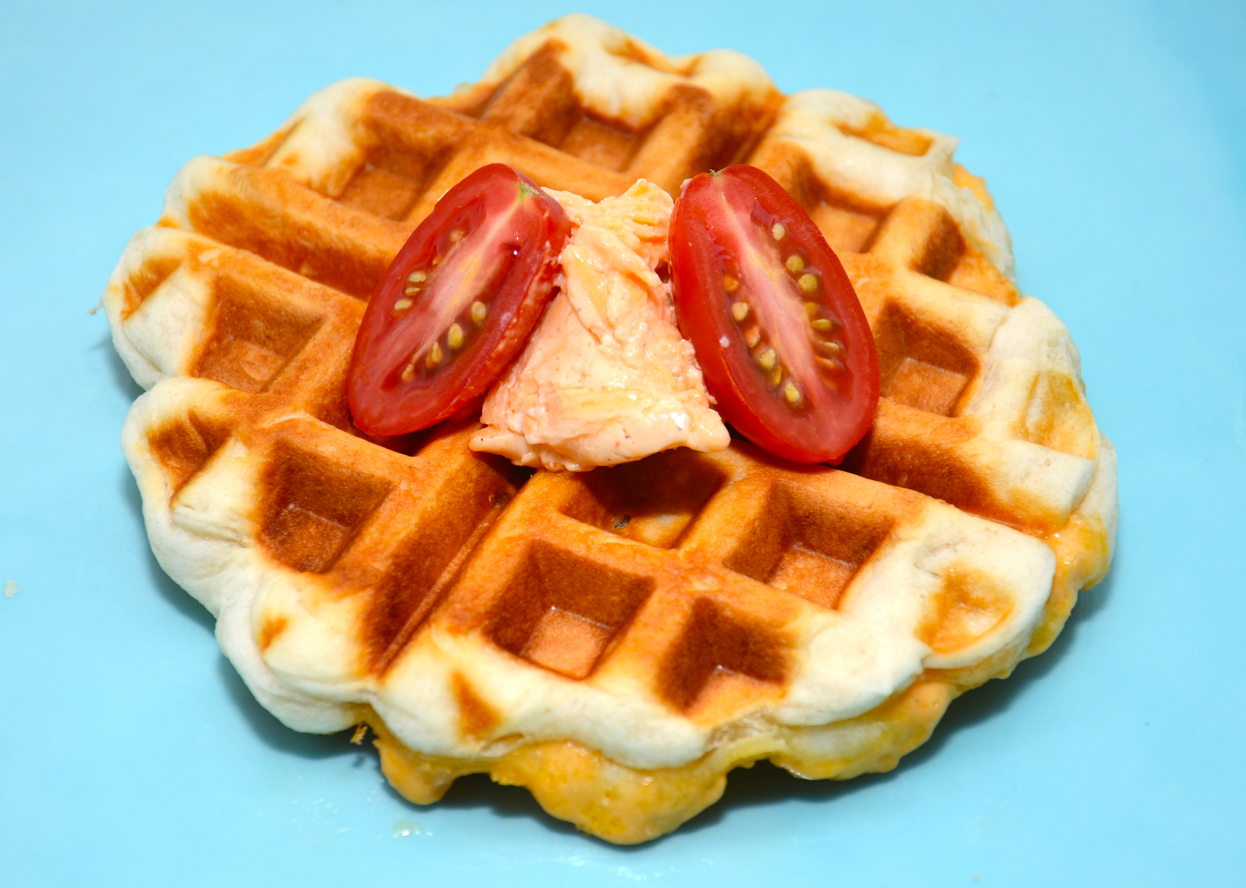 Palmetto Cheese Biscuit Waffle