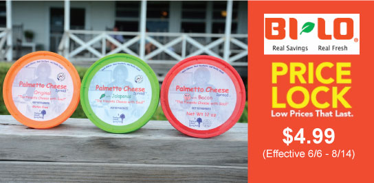 bi-lo price lock palmetto cheese