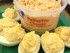 Palmetto Cheese Stuffed Deviled Eggs