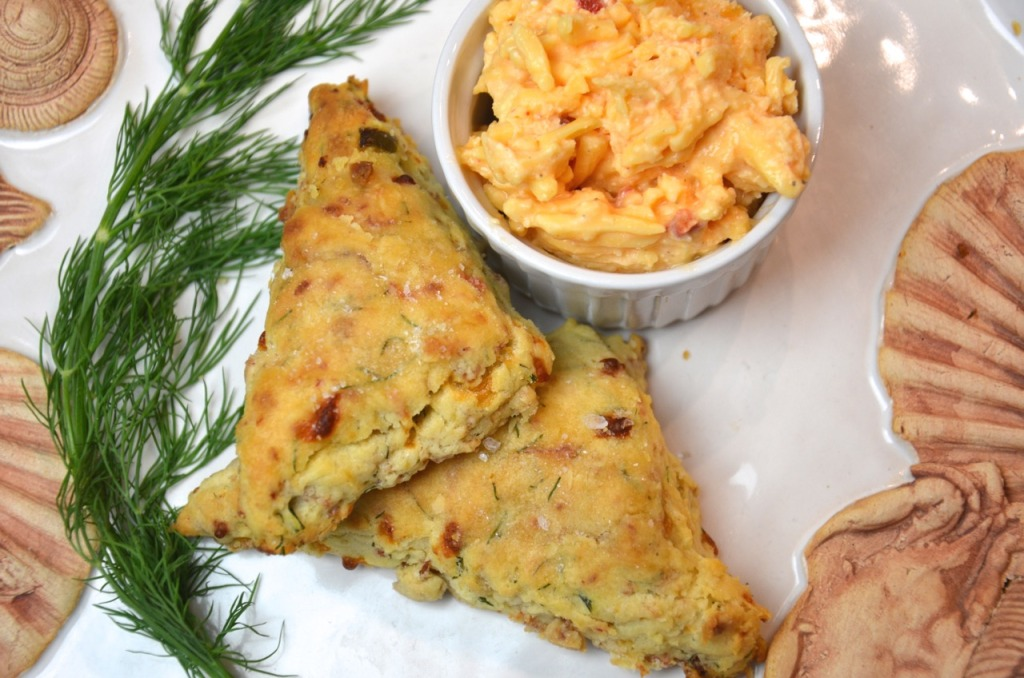 Palmetto Pimento Cheese Scones