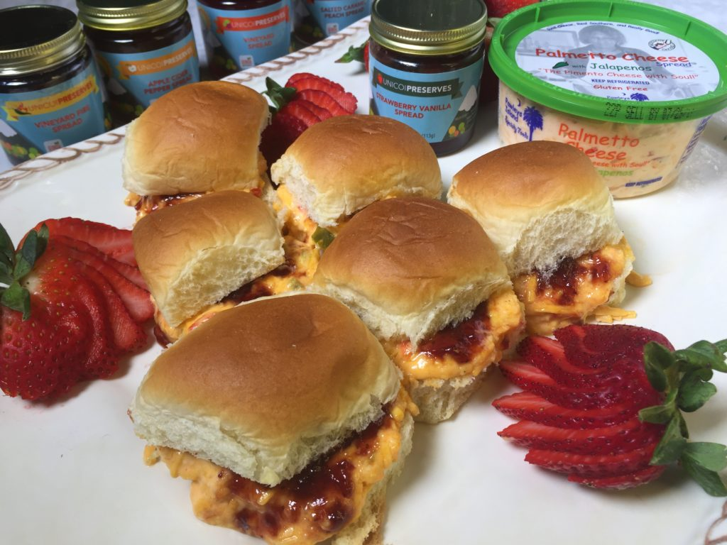 palmetto cheese sandwiches